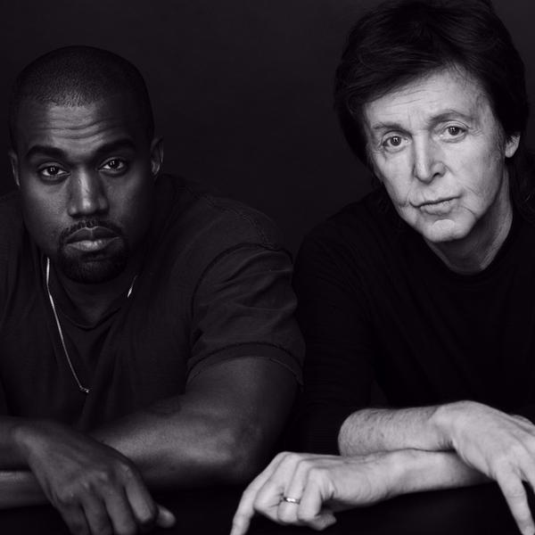 Kanye and Paul McCartney