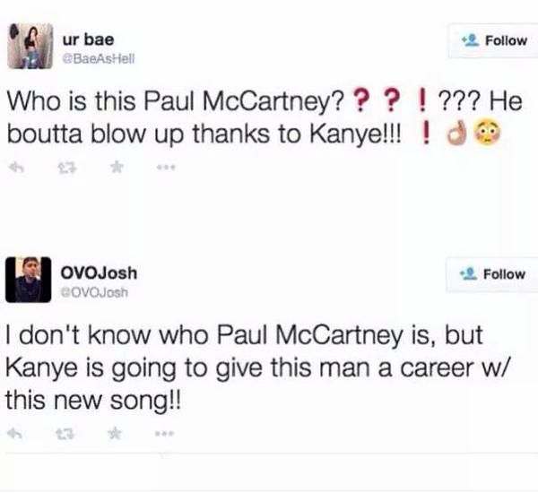 Who is Paul McCartney?