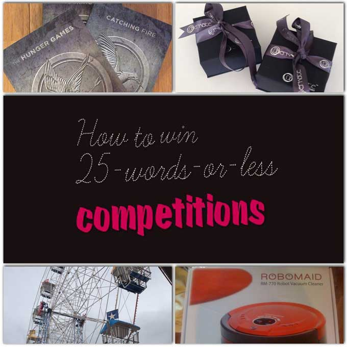 Just how to Win A25 Terms or Less Competition
