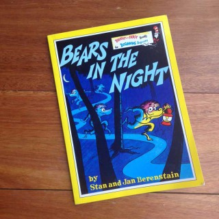 Bears in the Night – Stan and Jan Berenstain (book review)