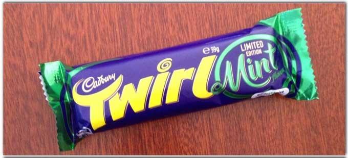 Twirl - chocolate