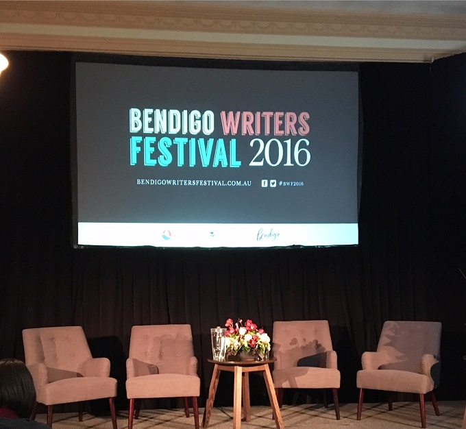 Bendigo Writers Festival stage