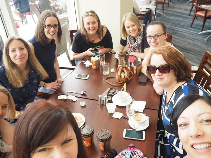 ProBlogger-conference-last-breakfast
