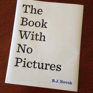 The Book With No Pictures – B.J. Novak (book review)
