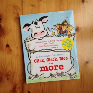 Click, Clack, Moo and more: A Barnyard Collection – Doreen Cronin and Betsy Lewin (book review)