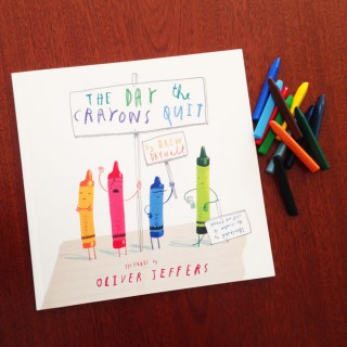 The Day the Crayons Quit – Drew Daywalt and Oliver Jeffers (book review)