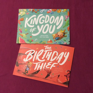 The Birthday Thief and Kingdom of You – a Wonderbly book review